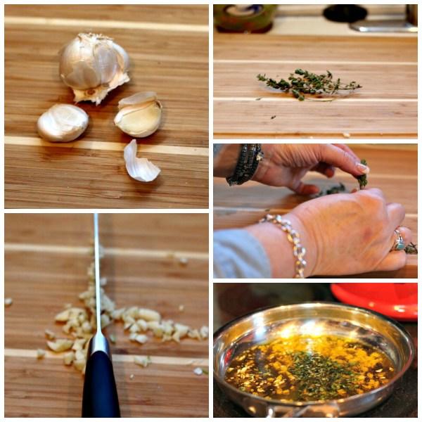 garlic thyme
