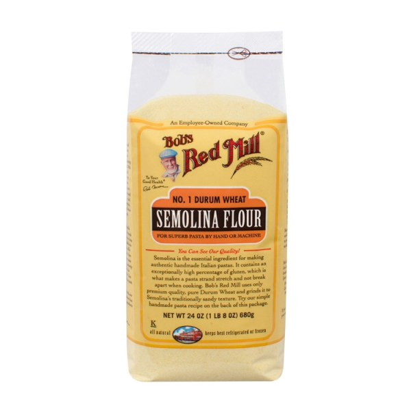 red Mill Semolina flour