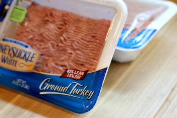 85-15 ground turkey