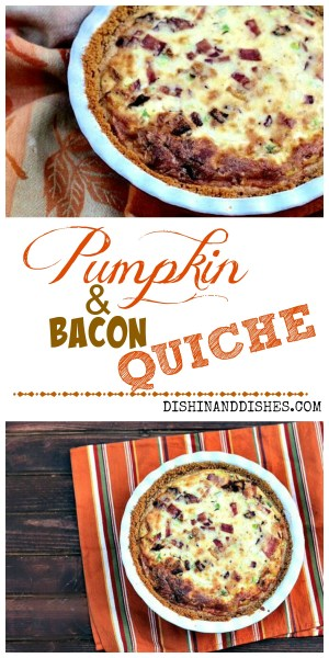Bacon and Pumpkin Quiche 1