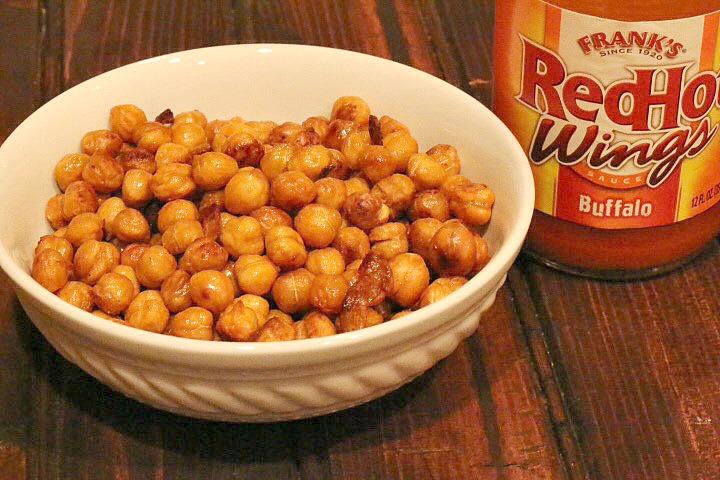 Roasted Buffalo Garbanzo Beans