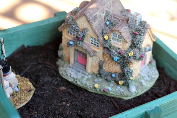 focal point for fairy garden