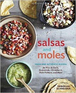 Salsas and Moles cookbook