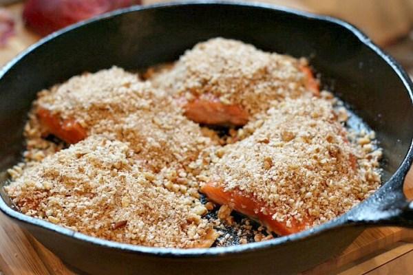 pecan crusted salmon recipe
