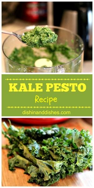 how do you make kale pesto recipe