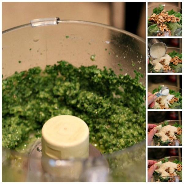 kale pesto recipe ingredients