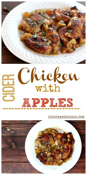 Chicken With Apple Cider and Apples