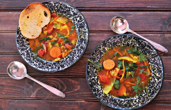 Fall cabbage soup
