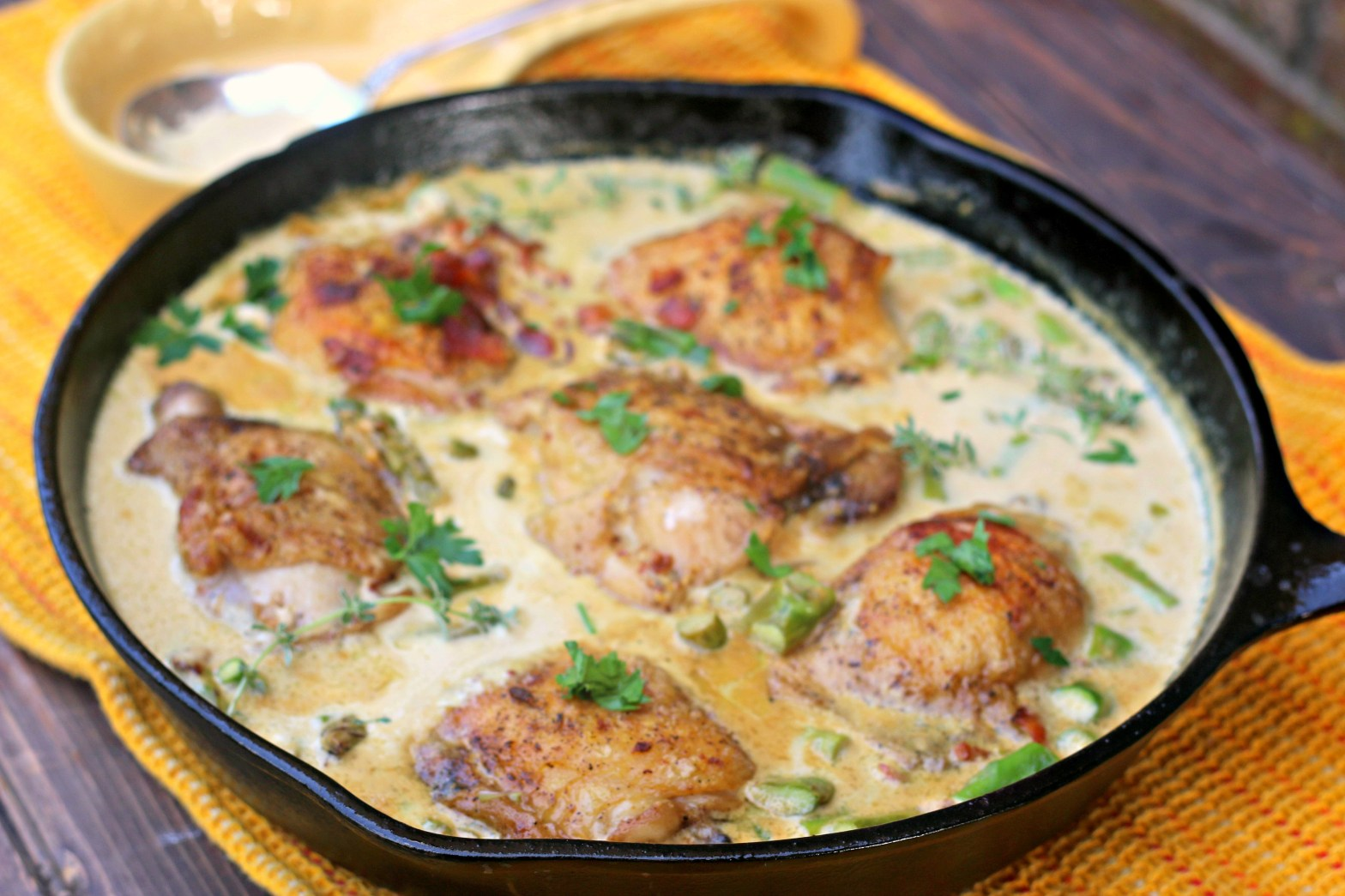 Creamy Mustard Chicken Recipe