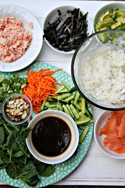 what to put in a poke bowl