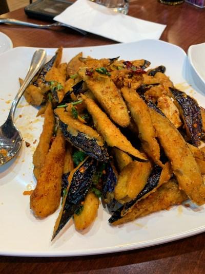 Crispy Eggplant Chuanyu Fusion