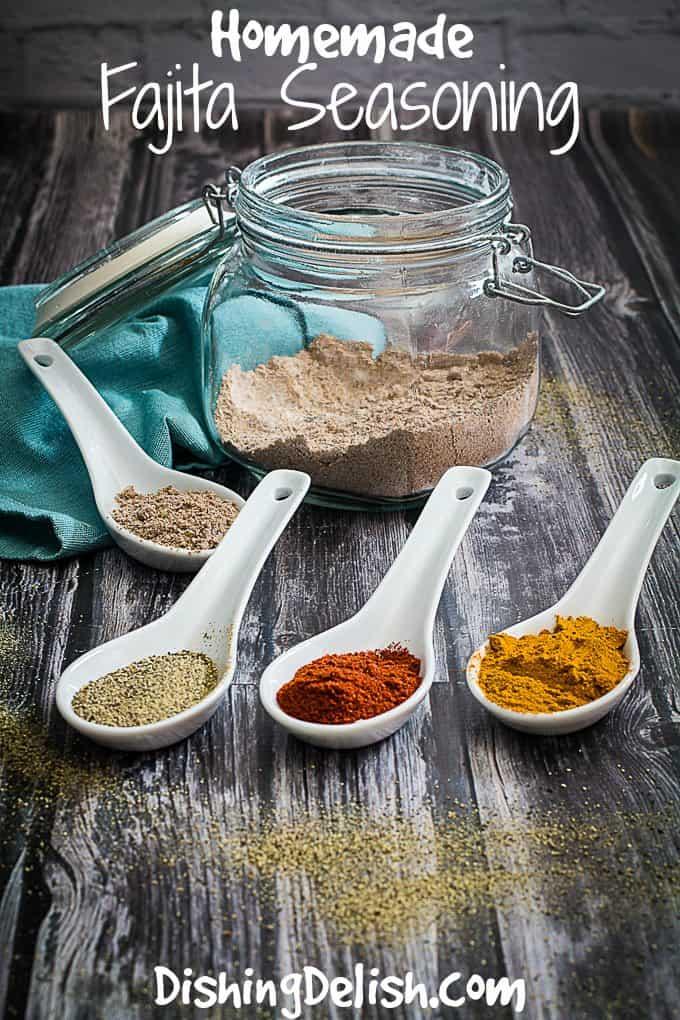fajita seasoning mix recipe