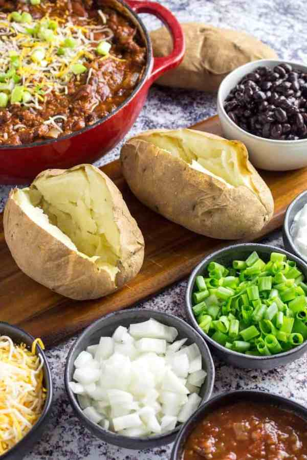 Baked Potato Bar Ideas - Entertaining On A Budget ...