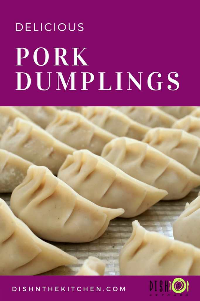There's no substitute for homemade dumplings! Follow my instructions and make your own today. #dumplings #appetizers #appys