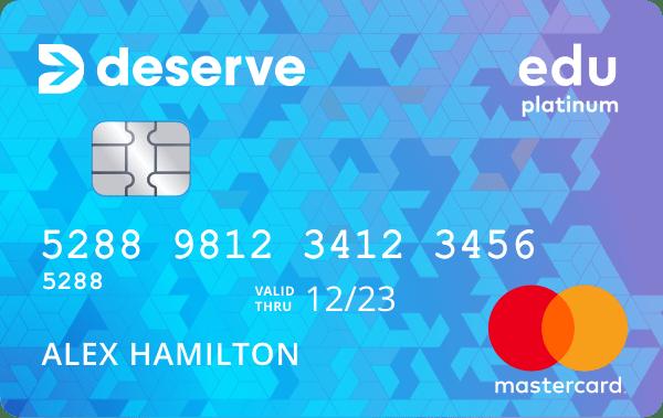deserve edu信用卡