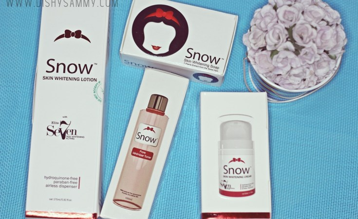 Snow Skin Whitening Product Review Dishysammy Com