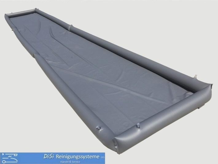 Fassadenreinigung-Auffangwanne-Auffangplane-Schmutzwasser