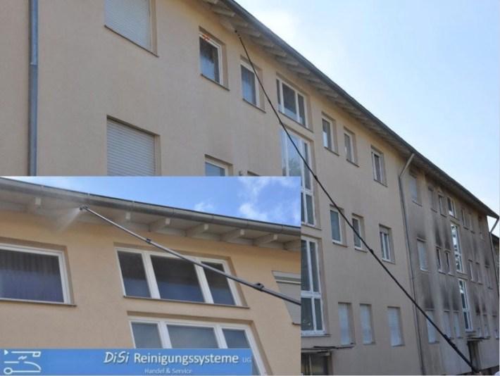 Fassadenreinigung-Teleskoplanze