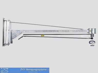 Schlauchaufroller-Schwenkarm-Drehgelenk