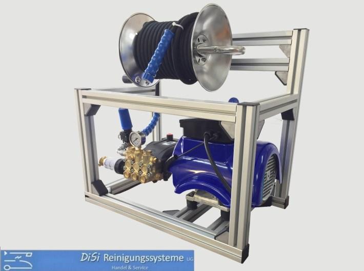 Hochdruckreiniger-Kaltwasser-Motorpumpeinheit-Alukäfig