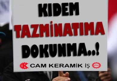 KIDEM TAZMİNATI HAKTIR, GASP EDİLEMEZ!