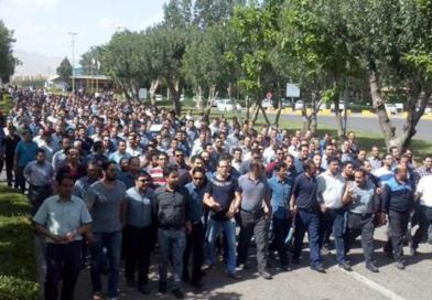 İRAN'DAKİ YEDİ TEPE (HAFT TAPEH) İŞÇİLERİNİN GREVİNİ DESTEKLİYORUZ!
