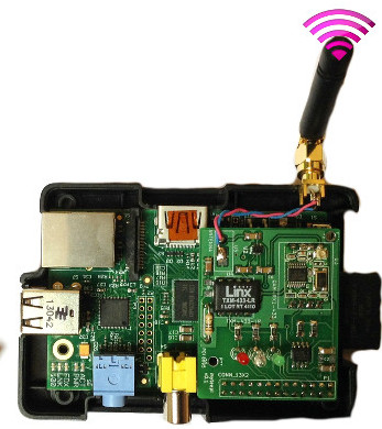 RF433 shield for Raspberry PI