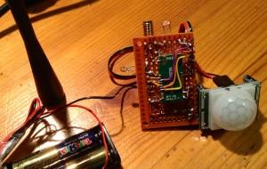 SigFox TD1208 as a connected PIR sensor