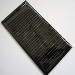 1$ Monochristal solar panel