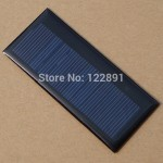 1$ Poly-crystalline solar panel
