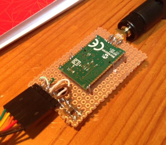 First step in LoRa land - microchip RN2483 test - disk91 com