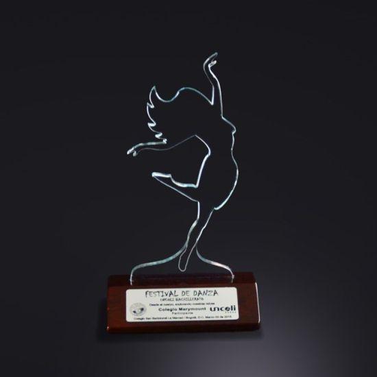 Trofeos en bogota acrílico