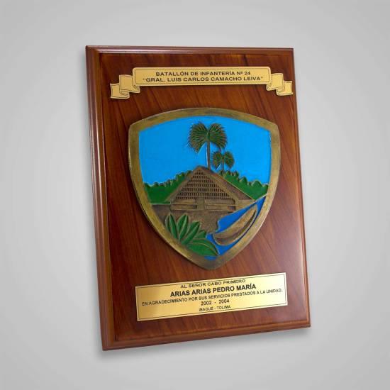 Placa Conmemorativa Ejército 2