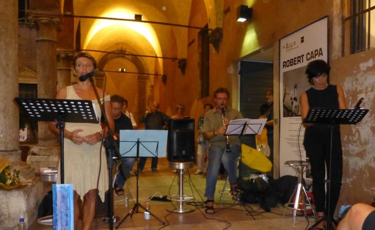 reading musicale mostra fotografica robert capa letture steinbeck concerto