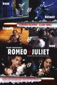 locandina film romeo juliet 1996