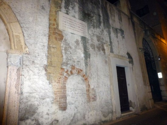 lapide antonio provolo via noris verona ottobre 1830