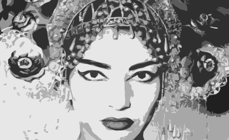 maria callas turandot cutout