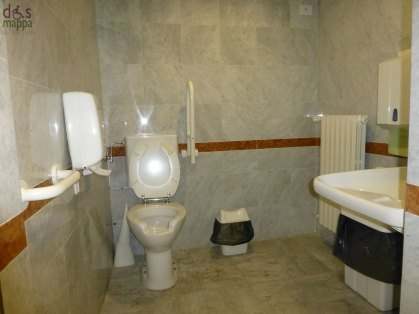 bagno accessibile disabili palazzo della ragione verona