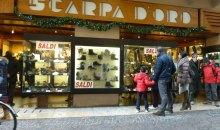 Scheda accessibilità negozio Scarpa d'oro