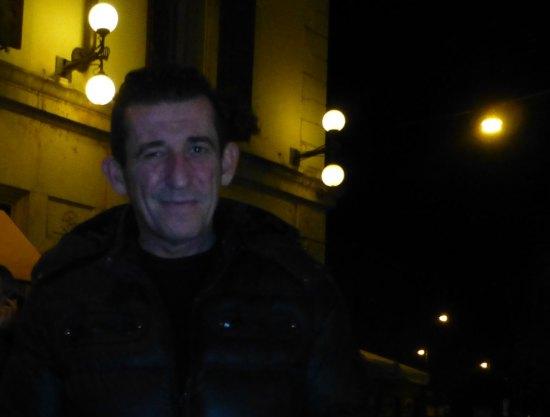 l'attore claudio casadio interprete di oscura immensità a verona, teatro nuovo