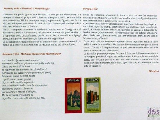 Uno su 500. Storia del segnalibro FILA catalogo