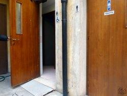 bagno accessibile e attrezzato per persone disabili al Museo di storia naturale di Verona