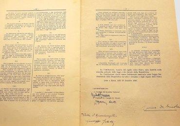 costituzione italiana 1947