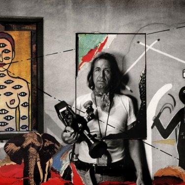 René Burri. Retrospettiva Centro Internazionale di Fotografia Scavi Scaligeri, Verona 18 maggio – 22 settembre 2013 Autoritratto, Coronado, Nuovo Messico 1973 / 1983