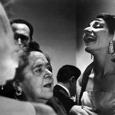 Mostra di René Burri a Verona - Maria Callas Philadelphia, USA, 1959