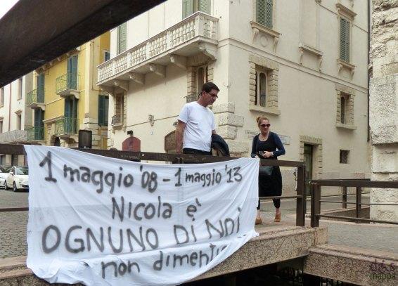 anniversario omicidio nicola tommasoli verona 2013
