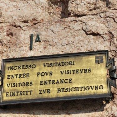 Ingresso visitatori