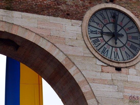 L'orologio di Piazza Bra alla partenza della Straverona