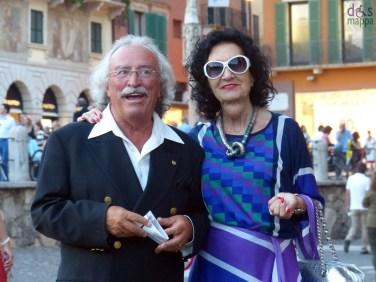 coppia elegante Prima della prima al Festival del Centenario: Il Trovatore, 7 luglio 2013, Arena di Verona