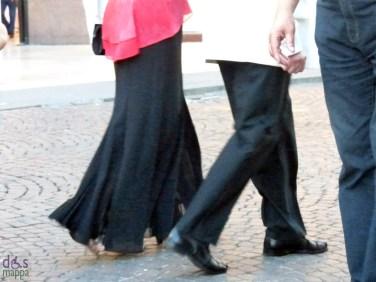 vestiti da sera Prima della prima al Festival del Centenario: Il Trovatore, 7 luglio 2013, Arena di Verona